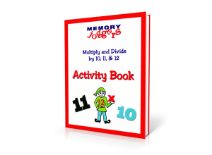 Multiply & Divide By 10, 11, 12: Activity Book [20 pages]