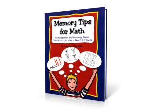 Memory Tips for Math: Using Mnemonics to Teach K-5 Math [MJ910 : 152 pages]