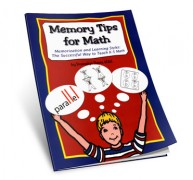 Memory Tips for Math book