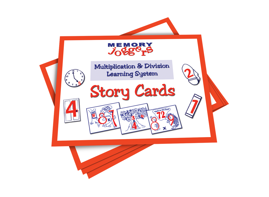 Multiplication & Division: Activity Book 0-9 [MJ230 : 25 cards]