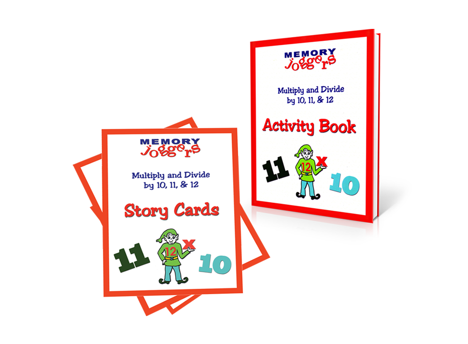 Multiply & Divide by 10, 11, 12: Story Cards & Activity Book [MJ250 : 8 cards : 20 pages]