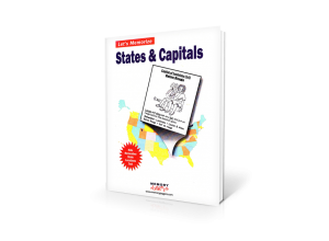 Let's Memorize States & Capitals [MJ400 : 50 cards : 8 pages]
