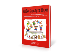 No More Counting on Fingers Book: Memorize Addition & Subtraction Facts the Memory Joggers Way, Using Rhymes & Pictures [MJ940 : 84 pages]