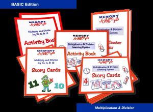 Multiplication & Division: BASIC Edition [MJ220 : 6 items]