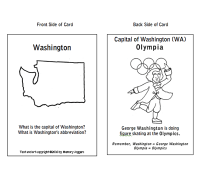 BLOG Post 01/26/11 – Let's Memorize States & Capitals