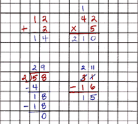 BLOG Post 03/16/13 – Graph Paper Makes Math Easier
