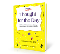 BLOG Post 11/06/12 – Memorizing Inspiring Thoughts | BLOG Post 04/08/10 – Why I Wrote Thought for the Day | BLOG Post 07/30/09 – My New Book 'Thought for the Day' is published!
