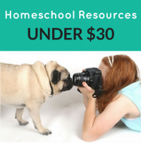 Resources for Homeschoolers for Under $30